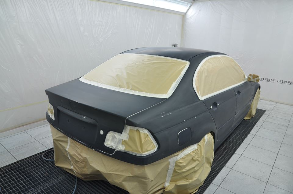 pintura de carrocerias - pintado de coches